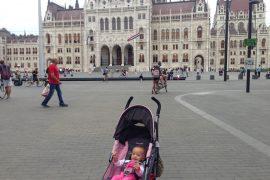 Sienna Little Explorer in Budapest