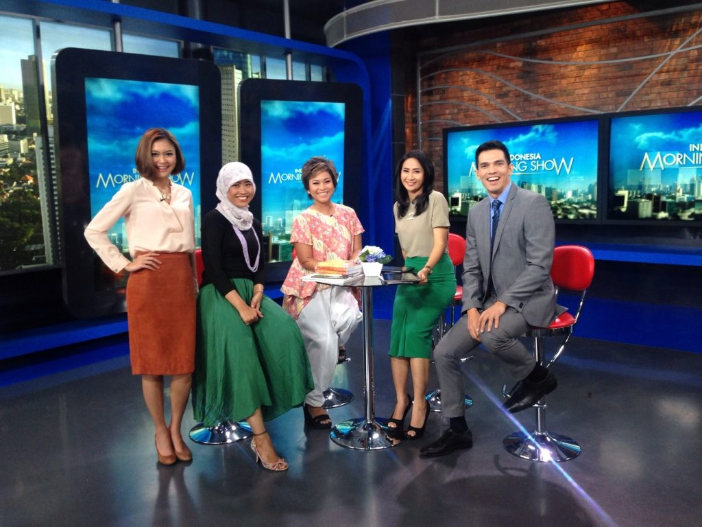 Taman Bacaan Pelangi is on NET TV Indonesia Morning Show