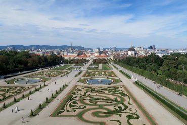 Belvedere Palace's Garden