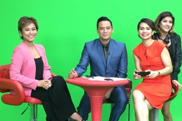 MNC World News talkshow with Tommy Tjokro and Tasya.