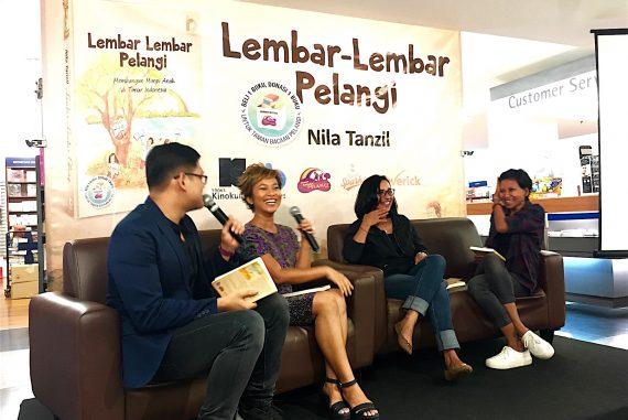 Book Launch of Lembar-Lembar Pelangi