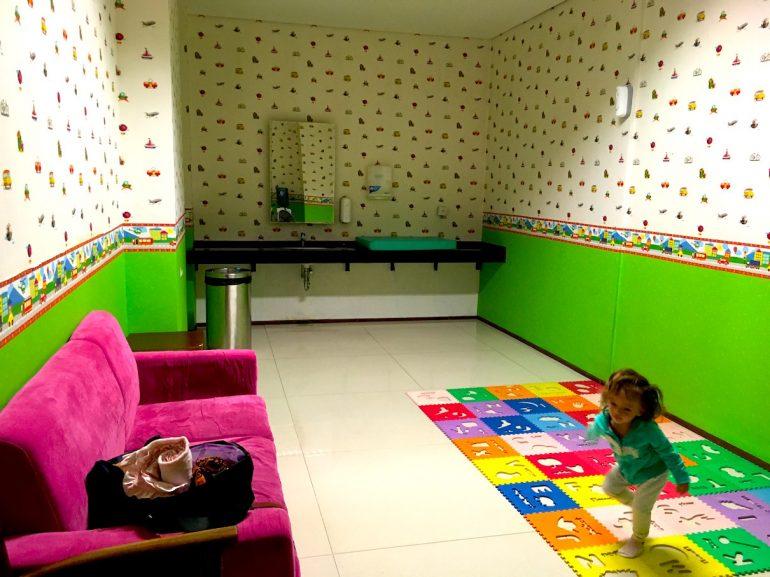 Nursery Room At Ngurah Rai Airport Bali Nila Tanzil